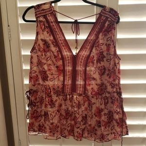 New without tags kate spade sleeveless blouse